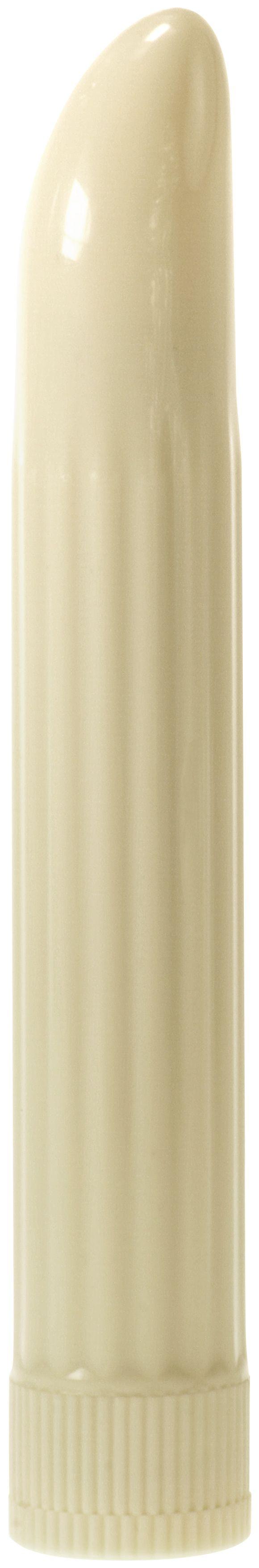Sensuous Ribbed Vibrator Ivory Minx