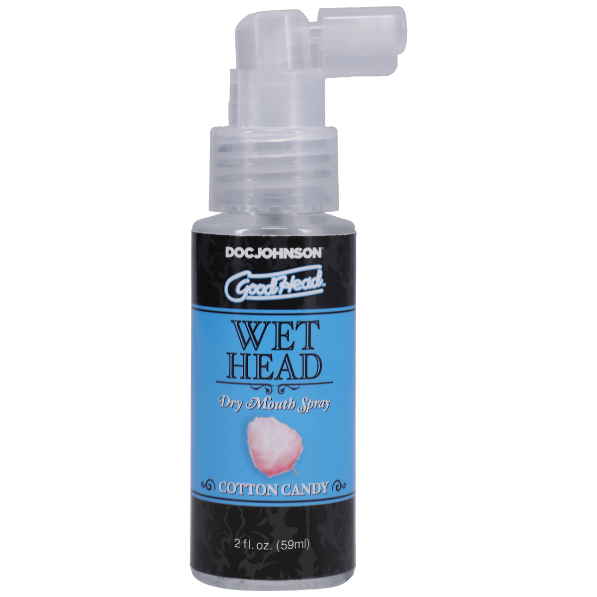 GoodHead - Wet Head - Dry Mouth Spray - Cotton Candy - 2 fl. oz.