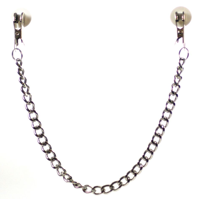 Nanma Chain Clasps Metal Chain Silver 14.5in