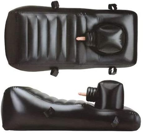 Nanma Louisiana Lounger Inflatable Lounger With 3 Dongs Flesh