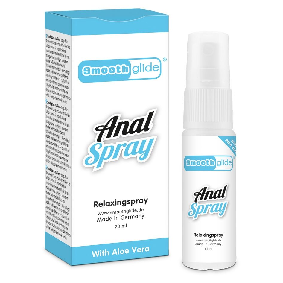 Smooth Glide Anal Relaxing Spray Transparent 20ml
