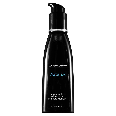 Wicked Sensual Care Aqua Waterbased Black 120ml