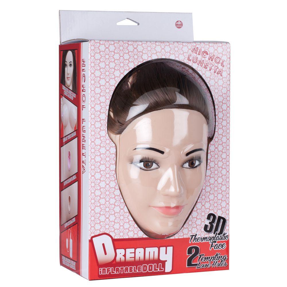 Nanma Nichol Lunetta Dreamy 3D Face Love Doll Flesh
