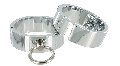 Chrome Slave Bracelet - ML
