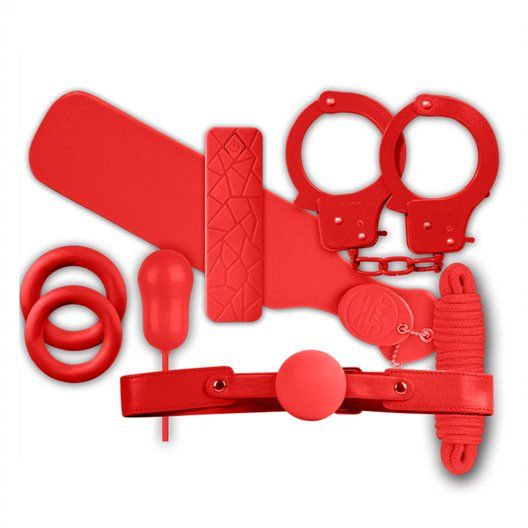 Excellent Power The Mean Couple Romance Kit 4 Red/Black