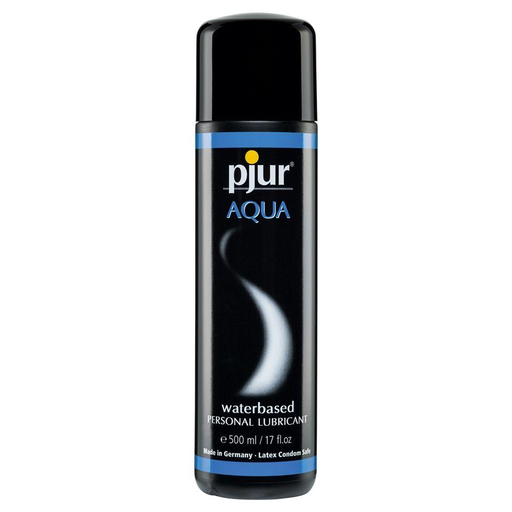 Pjur Aqua Waterbased Lubricant Transparent 500Ml