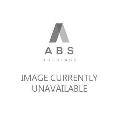 Basix Rubber Works Mini Butt Plug Transparent 4.25in