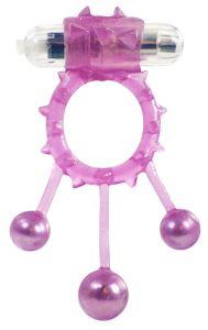 Me You Us Ball Banger Cock Ring Purple