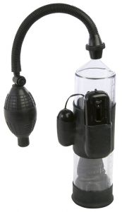 Nanma Lust Buster Vibrating Vacuum Pump With Cylinder Black 7.5in