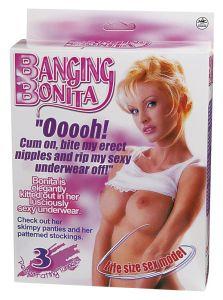 Nanma Banging Bonita Life Size Love Doll With 3 Penetrating Holes Pink