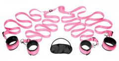 Pink Bedroom Restraint Kit