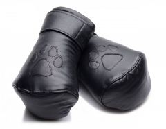 Leather Padded Puppy Mitts