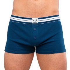 Bluebuck Navy Boxer with White Details Xlarge