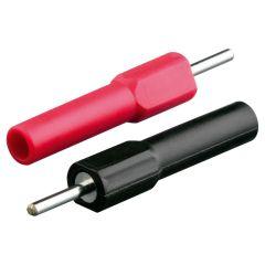 ElectraStim 4mm Banana Plug to 2mm Pin Converter Kit Black/Red OS