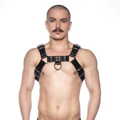 Prowler RED Butch Harness Black/Silver XXLarge