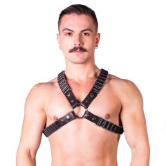 Prowler RED Ballistic Harness Black/Silver Large