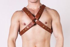 Prowler RED X Harness Brown/Brass Small