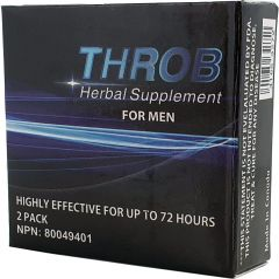 Throb 2 Pack Pills Blue
