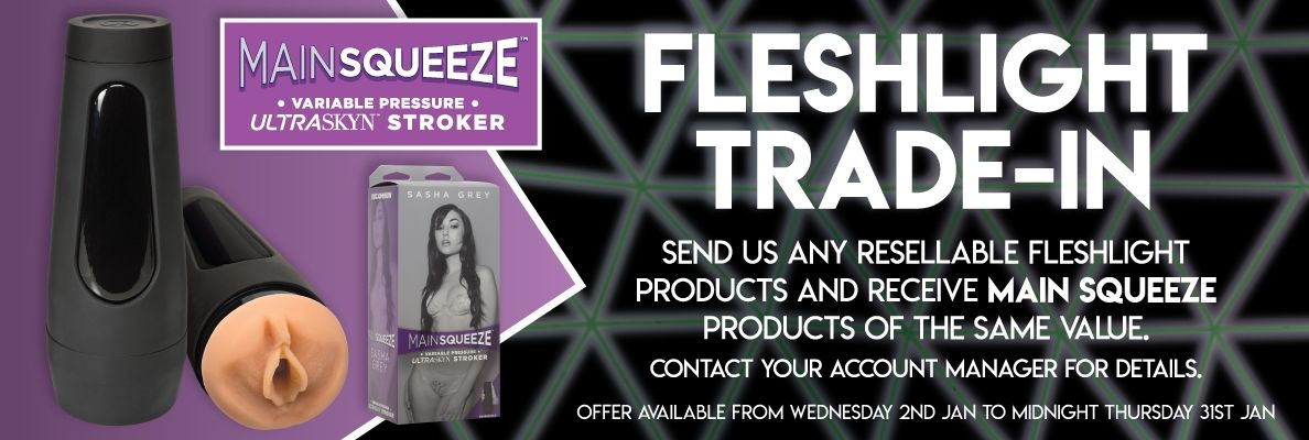 Fleshlight Main Squeeze trade in